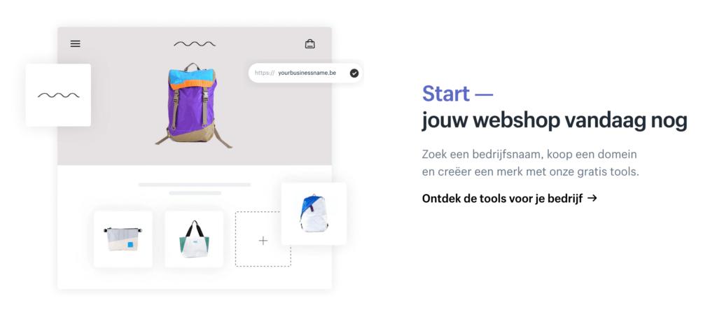 Shopify - Start jouw eigen webshop vandaag nog