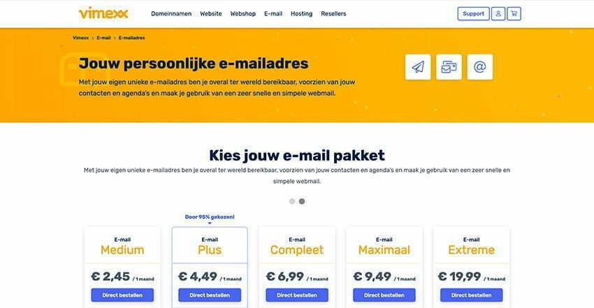 Mailbox bestellen bij Vimexx