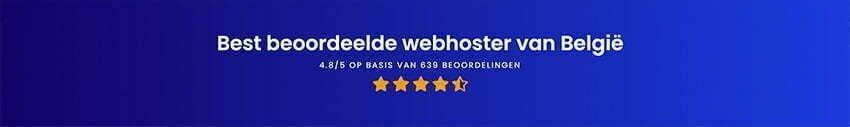 Combell, best beoordeelde webhoster van belgie