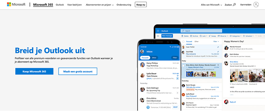 Premium Hotmail account aanmaken